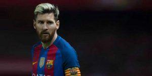 Messi causa baja para el partido de Liga contra Málaga