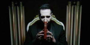 Marilyn Manson decapita a Trump en nuevo video