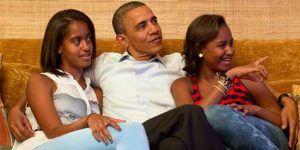 Lo que Obama le dijo a sus hijas luego del triunfo de Donald Trump
