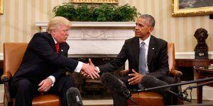 Obama y Trump llaman a la reconciliación en el Día de Acción de Gracias