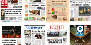 Donald Trump continúa acaparando la atención de México y el mundo