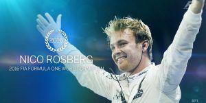 Nico Rosberg gana su primer título de Formula 1