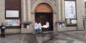 Hallan a suicida con tiro de gracia en iglesia de Álvaro Obregón