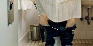 ¿Por qué se adormecen las piernas luego de estar sentados en el inodoro?