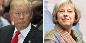 Trump invita a Theresa May a visitarlo lo antes posible