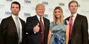 Trump nombra a sus hijos en comité de transición