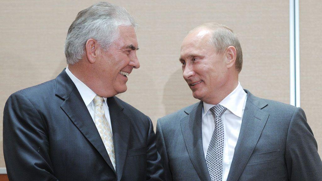 Tillerson y Putin. Foto de Forbes