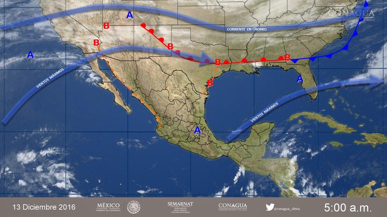 Seguirán bajas temperaturas por Frente Frío 12