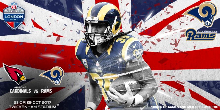 Uno de los partidos que se disputarán en Londres. Foto de NFL