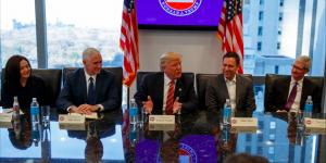 Trump se reúne con la élite de Silicon Valley
