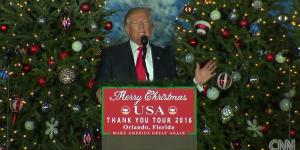 Trump admite que sus seguidores fueron violentos durante su campaña