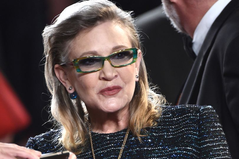 Carrie Fisher. Foto de Mirror
