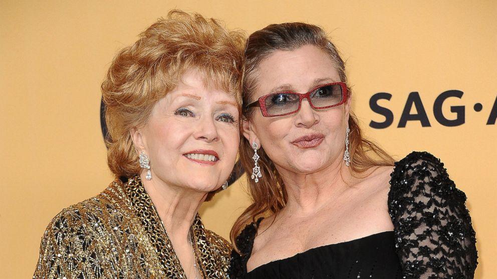 Debbie Reynolds y su hija Carrie Fisher. Foto de ABC News