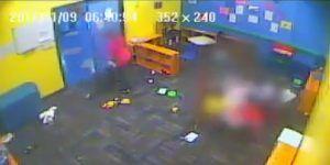 Video: maestra arrastra a niño de cinco años en una guardería