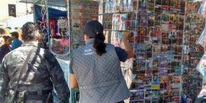 Aseguran más de 32 mil películas apócrifas en Querétaro