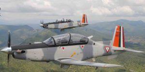 Avión de la Fuerza Aérea se estrella en Sonora. Hay dos muertos