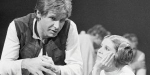 Harrison Ford lamenta la muerte de Carrie Fisher