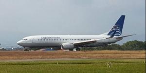 Desvían avión de Copa Airlines que volaba a México