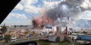 Explosiones en mercado de cohetes de Tultepec dejan al menos 29 muertos