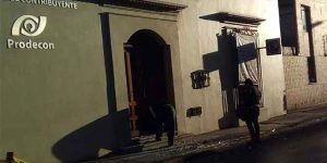 Detonan dos explosivos en Oaxaca