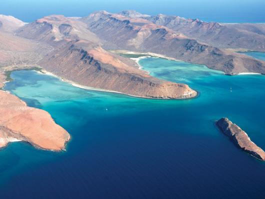 Isla Espíritu Santo. Foto de internet