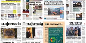 Tultepec y Berlín en las primeras planas de México y el mundo