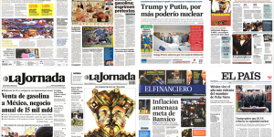 Tultepec, Pemex y embajador ruso asesinado en las primeras planas