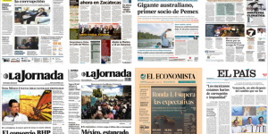 Pemex y Matteo Renzi en las primeras planas de México y el mundo