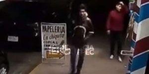 Video: roban local y a peatón en Ecatepec