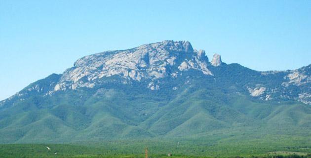 Sierra de Tamaulipas. Foto de México Desconocido