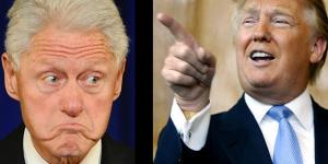 Donald Trump ataca a Bill Clinton por Twitter