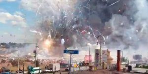 """""""Niño prendió un cohete y empezó la explosión"""": locatario de San Pablito"""
