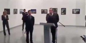 Difunden nuevo video de asesinato de embajador ruso en Turquía