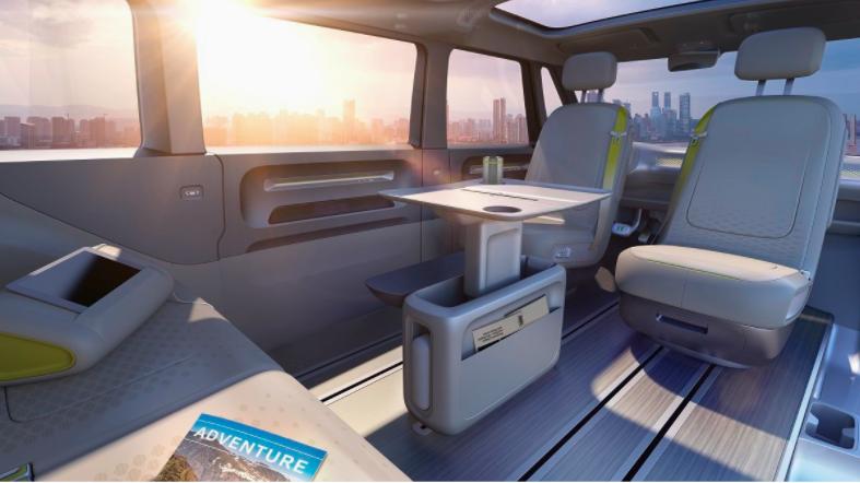 Así serán los interiores de la camioneta. Foto de Twitter @ecomotor