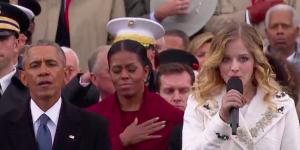 Jackie Evancho cantó el himno durante investidura de Trump