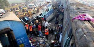 Accidente de tren en la India deja 32 muertos