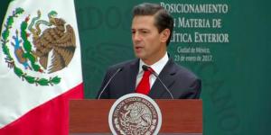 No confrontaremos a Trump, pero tampoco habrá sumisión: EPN