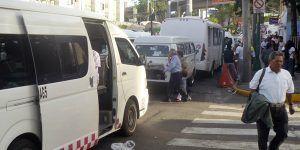 La ola de asaltos en el transporte público de Naucalpan
