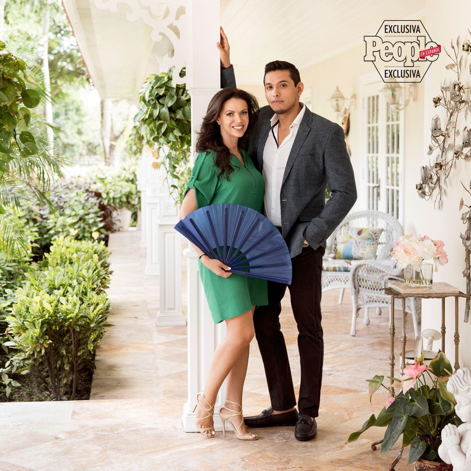 Simona Aguilera e Iván Aguilera. Foto de People en Español.