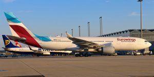 Avión de Eurowings aterriza en Kuwait por amenaza de bomba