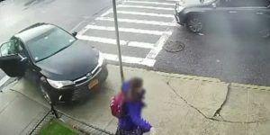 Video: mochila salva a estudiante atropellada