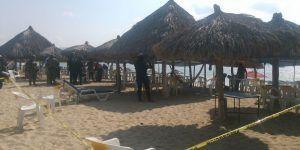 Matan a dos hombres en playa de Acapulco