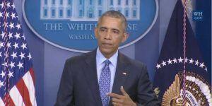 Última conferencia de Obama: 'Pies Mojados, Pies Secos trataba a los cubanos diferente'