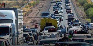 Bloqueos en Chihuahua contra el aumento a la gasolina