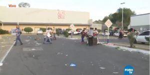 Saquean Bodega Comercial Mexicana de Ecatepec