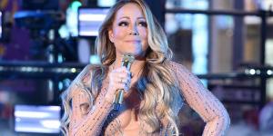 Desastrosa actuación de Mariah Carey durante el evento de año nuevo en NY