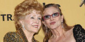 Realizan funeral de Carrie Fisher y Debbie Reynolds