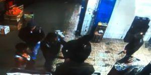 Video: asalto a mano armada en Central de Abasto