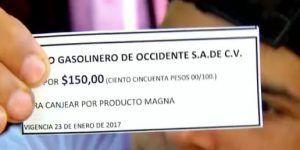 Alcalde cambia gasolina por frijoles en Colima