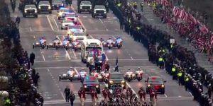 Así fue el desfile de investidura del presidente Trump